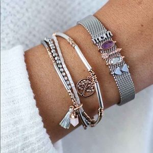 KEEP Collective Mesh Bracelet- FREE CHARM